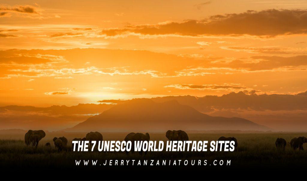 7 UNESCO World Heritage Sites