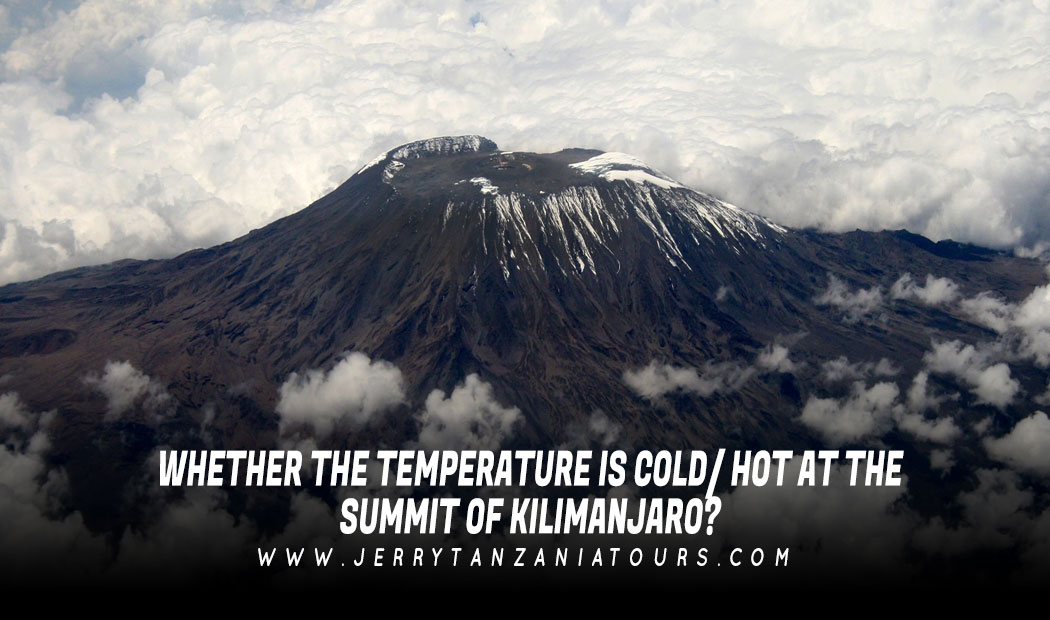 Whether The Temperature Is Cold/ Hot At The Summit Of Kilimanjaro?