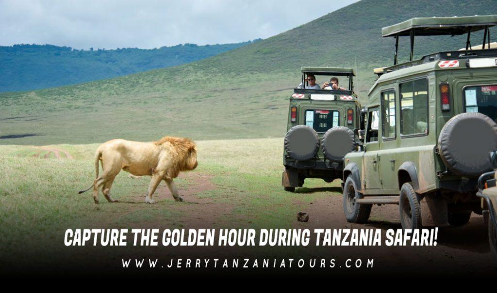 CAPTURE THE GOLDEN HOUR DURING TANZANIA SAFARI!