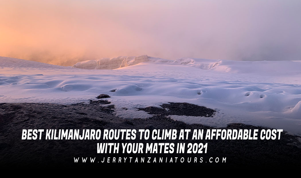 BEST KILIMANJARO ROUTES TO CLIMB AT AN AFFORDABLE COST WITH YOUR MATES IN 2021