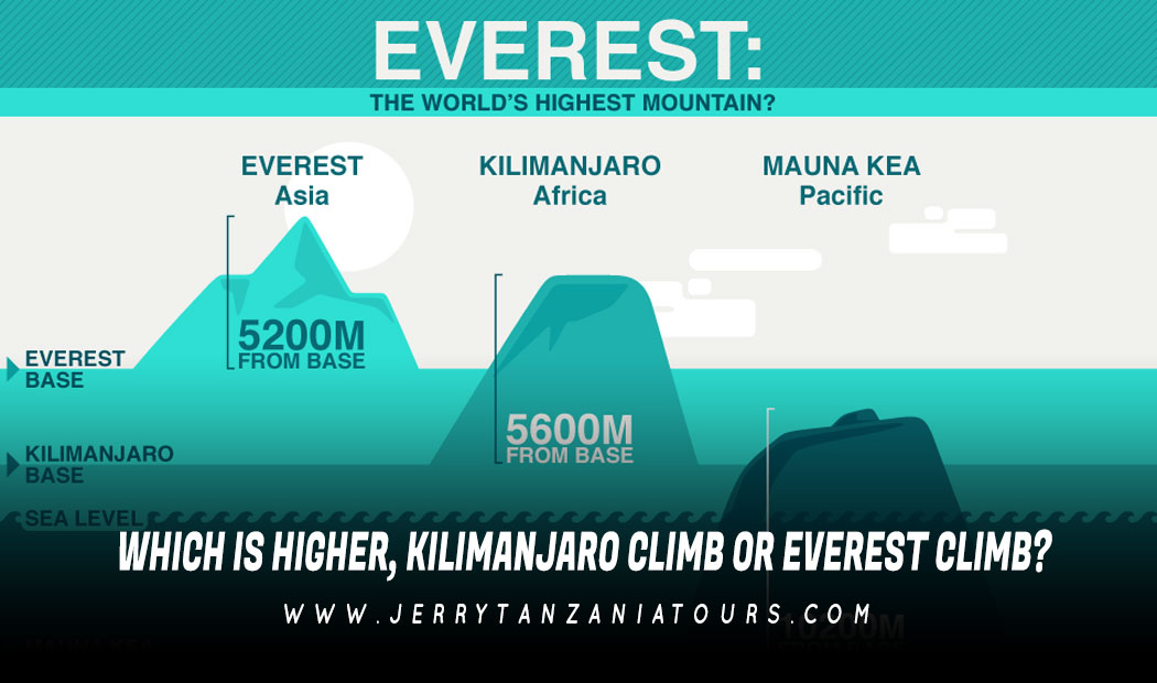Which Is Higher, Kilimanjaro Climb Or Everest Climb?