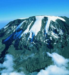 Kilimanjaro On The Mountain