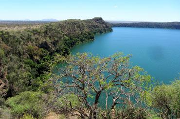 Lake Chala Waterfall