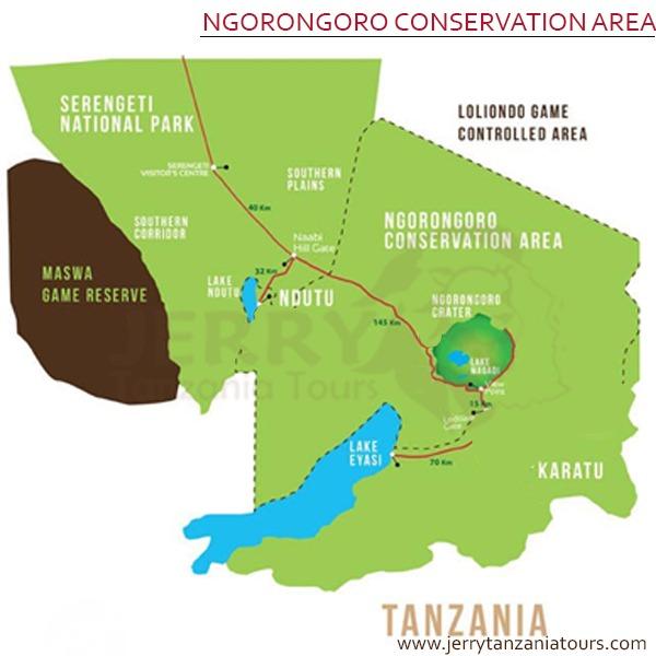 Ngorongoro Map