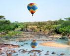 serengeti hot air balloon safari