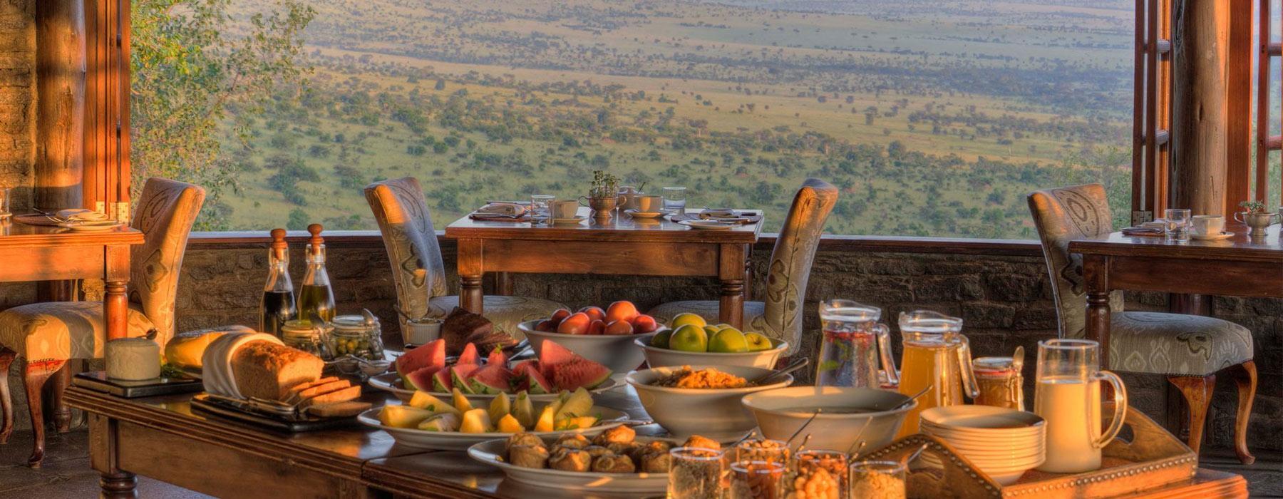Tanzania Safari Food